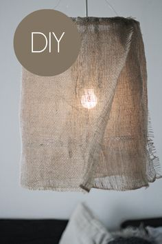 DIY: lamp shade barefootstyling.com
