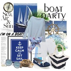 Keep calm & set Beach Fun, Beach Trip, Nautical Fashion, Nautical Style, Trip Planning, Party Planning, Resort Casual Wear, Sailing Theme, Party Like Its 1999