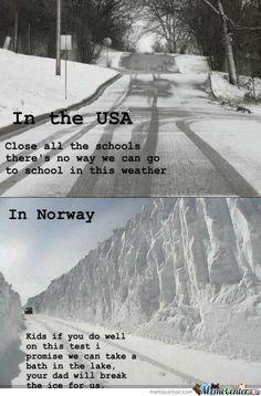 USA vs Norway | Funny