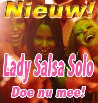 Vanaf januari starten we met Lady-Salsa-Solo lessen! Salsa lessen speciaal voor vrouwen! Goed voor je conditie en figuur! Schrijf je in via de website voor 11 janauri en ontvang 5 euro korting!