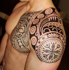 neo tribal tattoos | Beste Schulter -Tattoos | Tattoo-Bewertung.de | Lass Deine Tattoos ...