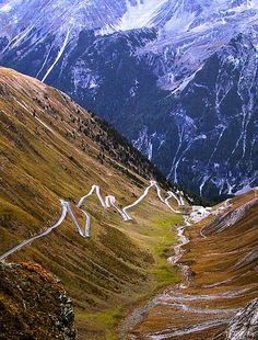 Stelvio pass (Italy) one of the great driving roads, by Stewart Atkins on Flickr.......all I can say is WOW!!_!_