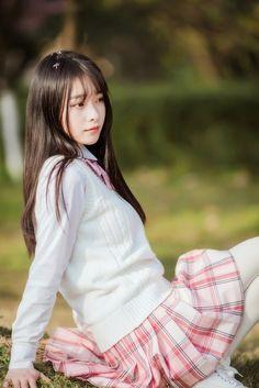 School Girl Japan, Japan Girl, Beautiful Japanese Girl, Beautiful Girl Image, Beautiful Asian Girls, Hot Girls, Cute Asian Girls, Sexy Outfits, Girl Outfits