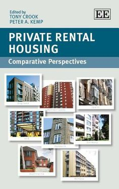 LSE Review of Books – Book Review: Private Rental Housing: Comparative Perspectives edited by Tony Crook and Peter Kemp