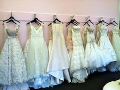 More gowns! Take your pick! #weddinggown #bridalsalon #unveiled