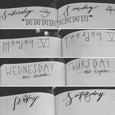 Doing some headers in my #bulletjournal I'm so excited for October  #bujo #plannercommunity #planneraddict