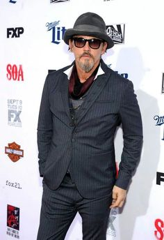 Tommy Flanagan at SOA #FinalRide Red Carpet Premiere 9/6/14