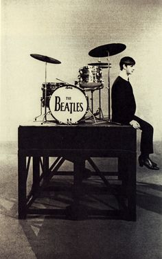 Ringo and his instrument of choice