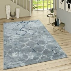 Fairmont Park Flachgewebe-Teppich Deeter in Blau Best Carpet, Diy Carpet, Modern Carpet, Modern Rugs, Design Marocain, Pergola, Fairmont Park, Yellow Area Rugs, Geometric Rug