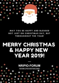 May you be happy and blessed, Not just on #Christmas day, but throughout the year! #MerryChristmas🎄 and #HappyNewYear🎊 to all!