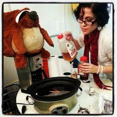 Melissa's Slothful Apple Cider Recipe from Nana Panda's Cookbook! Full recipe at http://www.squishable.com/s/nanapanda #squishable #sloth #cider #applecider #plush #recipe #nanapanda #cookbook