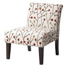 Avington Upholstered Slipper Chair - Whimsical