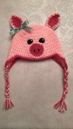 Piggy Hat Christmas Gift by CharleeAnn
