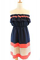 Country Club Dress - Navy #$36.00