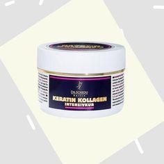 Dr. Schedu Berlin Keratin Kollagen Intensivkur #kollagen #intensive Botox Cream, Berlin, L'oréal Paris, Coffee Cans, The Cure, Drinks, Tips, Jojoba, Aloe Vera