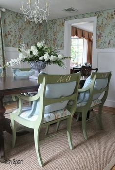 Betsy Speert's Blog: How To Reupholster Dining Chairs With A Comfy Cushy Seat (already has a cushion)