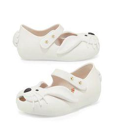 boutique flirt - Mini Melissa Shoes Mini Ultragirl Rabbit White, $55.00 (http://www.boutiqueflirt.com/mini-melissa-shoes-mini-ultragirl-rabbit-white/)