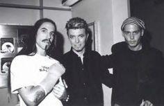Anthony Kiedis , Bowie & Johnny Depp