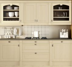 Add a touch of warmth to your kitchen with Euro-Taupe from Nuvo Cabinet Paint. Transforming your kitchen on a tight budget is now possible with Nuvo!