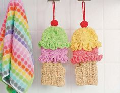 Twinkie Chan's Crocheted Abode a la Mode: 20 Yummy Crochet Projects for Your Home Ice Cream Wash Mitt