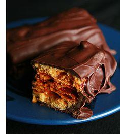 Homemade Crunchie Bars! | Celebration Generation: Food, Life, Kitties! @Claire Heard