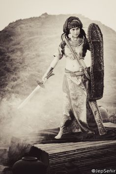 """While women in precolonial Philippines were often designated to the venerable position of the babaylan, it was not an uncommon occurrence for them to pick up arms and become warriors.""  - from the article:  The Filipina as Ritualist and Warrior By Perry Gil S. Mallari   Image: Filipina actor, Marian Rivera as the Visayan warrior, Amaya welding her sword for justice.  Watch free episodes of ""Amaya""online  Come learn with us.  - Kapwa Collective  Blog: kapwacollective.tumblr.comFacebook:"