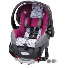 Evenflo Embrace Select Infant Car Seat w/Sure Safe Installation, Evangeline - Shop Baby Products Eddie Bauer, Rock N Play Sleeper, Car Seat Accessories, Baby Swings, Wishes For Baby, Travel System, Baby Online, Baby Safe, Autos