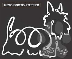 K Line Scottish Terrier Dog Car Window Decal Tattoo http://doggystylegifts.com/products/k-line-scottish-terrier-dog-car-window-decal-tattoo