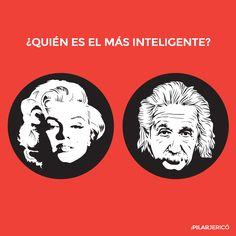 Por qué pensamos que Marilyn Monroe era menos inteligente que Einstein | Pilar Jericó A través de @xalberte