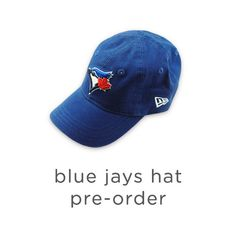 Blue Jays Hat Pre-Order - mini mioche - organic infant clothing and kids clothes - made in Canada Kids Store, Whats New, Jay, Baseball Hats, Infant Clothing, Mini, How To Make, Canada, Blue