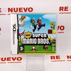 Videojuego Nintendo DS SUPER MARIO  E268218 de segunda mano #segundamano #videojuego #supermario #nintendo #ds