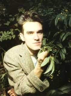Morrissey ― photo by Howard Tyler.