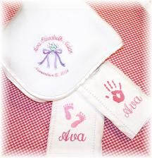Personalized Pampered Baby Gift Sets by babyobaby.com. When you care enough to give the very best!