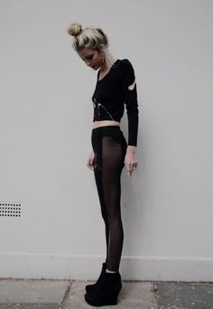 bun and tights
