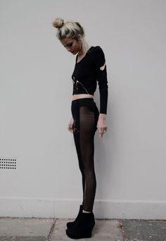 bun and tights