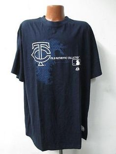Minnesota Twins Big Mens Majestic 4X-Large Short Sleeve Screened T-Shirt KK 1481