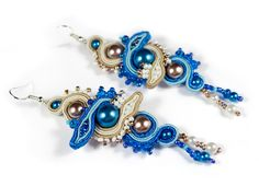 Naga earrings - Sutasz-Anka http://www.soutage.com/2012/04/naga-kolczyki.html
