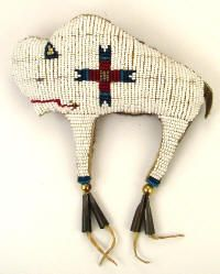 Beadwork Items, Beaded Fetishes, Beaded Bags, Strike-A-Lites, from Colorado Leather Goods
