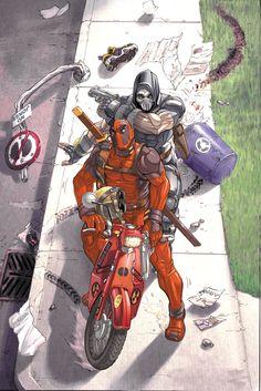 Deadpool - Scooter Gangsta