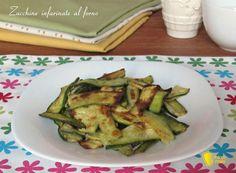 Zucchine infarinate al forno ricetta light il chicco di mais