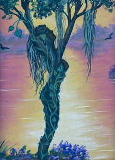 woman tree.