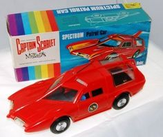 Captain Scarlet's Spectrum Patrol Car by Century21. In 1965, Century 21 Toys became the new name for J R Rosenthal Toys. This model of Captain Scarlet's Spectrum Patrol Car from 'Captain Scarlet and the Mysterons' was made in 1967. There is some speculation that the company went into... Click on the picture for the full feature.