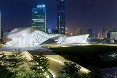 Image 2 of 30 from gallery of Guangzhou Opera House / Zaha Hadid Architects. Photograph by Iwan Baan