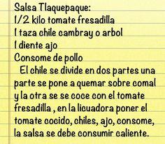 Salsa Tlaquepaque In 2019 Mexican Food Recipes Cooking Salsa