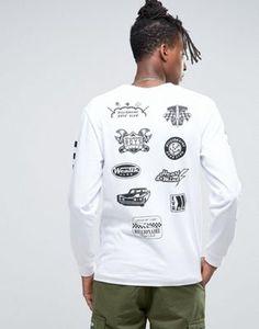Billionaire Boys Club Long Sleeve T-Shirt With Mechanics Print