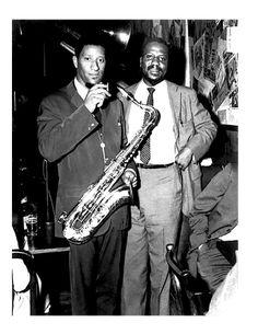 Sonny Rollins and Thelonius Monk