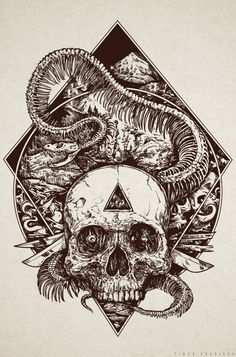 Timur Khabirov is a freelance illustrator from Russia who has been creating some amazing skull-themed art for the past 7 years. This is just a small sample of some of his recent work. You can find more on his Facebook pageor his Behance Page. His work is often similar to stuff by Godmachine and Raf(...)