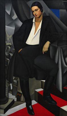 Tamara de Lempicka: Power and Decadence Tamara Lempicka, Maurice Denis, Art Deco Paintings, Estilo Art Deco, Luminous Colours, High Society, Elements Of Art, Hollywood Celebrities, Antique Art