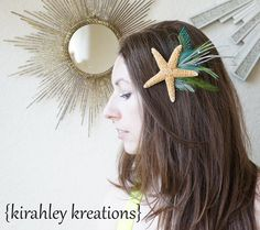 ARIEL   Sea Starfish Fresh Water Pearls by KirahleyKreations, $48.00