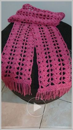 knitting patterns for letters and numbers knitting patterns for men's sweaters knitting pattern for mens hat Crochet Lacy Scarf, Crochet Scarves, Crochet Stitches, Crochet Hats, Animal Knitting Patterns, Sweater Knitting Patterns, Crochet Patterns, Crochet Flower Tutorial, Crochet Handbags